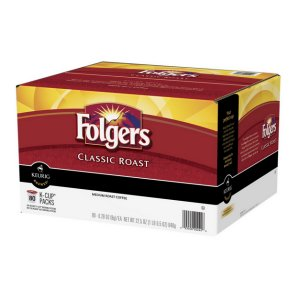 Folgers Classic Roast Coffee 80 K-Cups