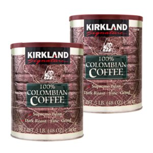 Kirkland Signature Colombian Supremo Ground Coffee 6 lbs